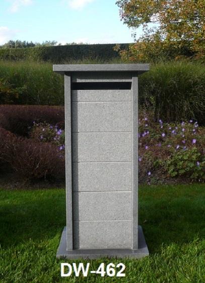 Boites aux lettres en granit et pierre bleue de for Carrelage 90x45