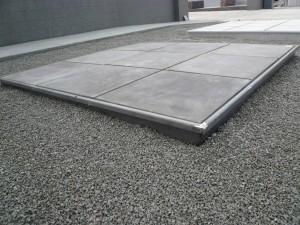 betondallen donker boord alu