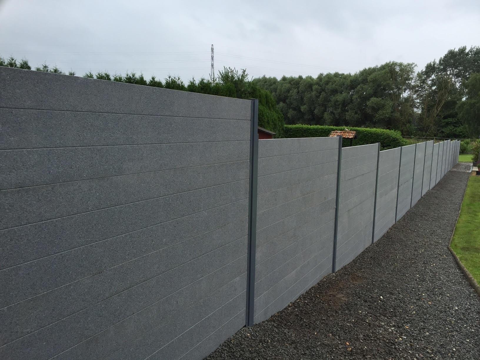 ecran de jardin en granit gris de wandeleer natuursteen On ecran de jardin belgique