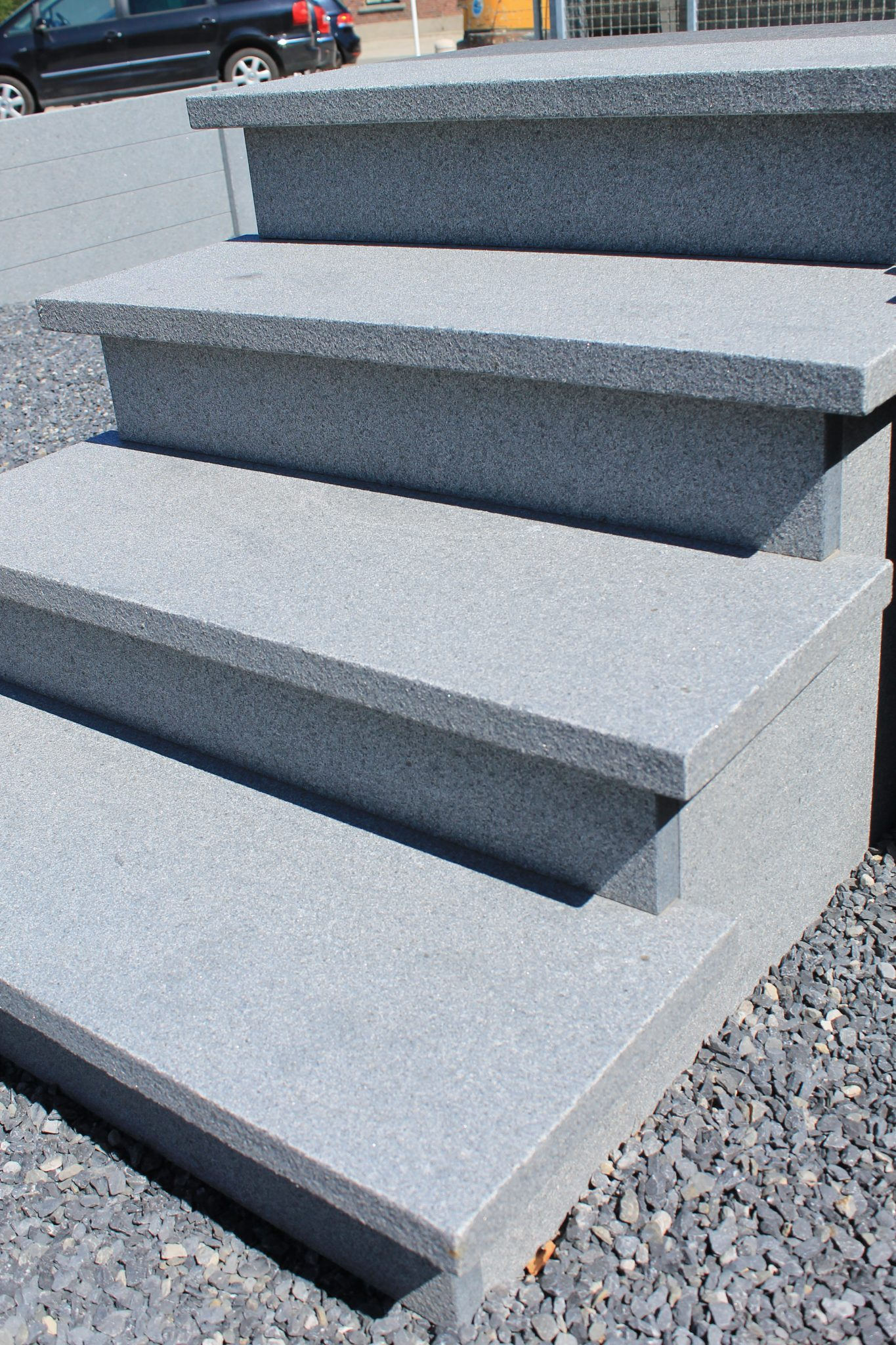 graniet traptreden 3 de wandeleer pierre naturelle. Black Bedroom Furniture Sets. Home Design Ideas