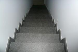 trap graniet binnen