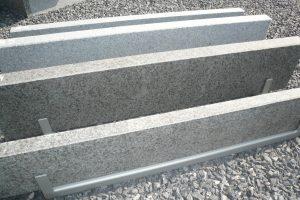 Graniet boordsteen