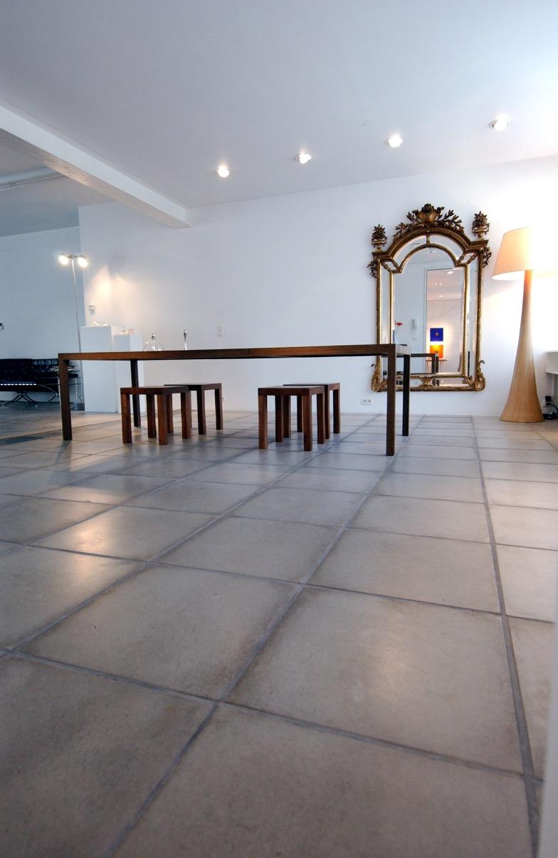 Dalle b ton belgique interieur de wandeleer natuursteen - Dalle clipsable interieur ...