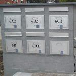blauwe steen brievenbus 3