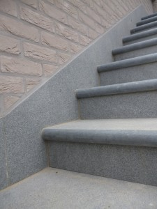 trap graniet buiten