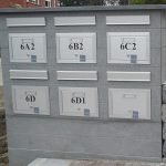brievenbus blauwe hardsteen 3
